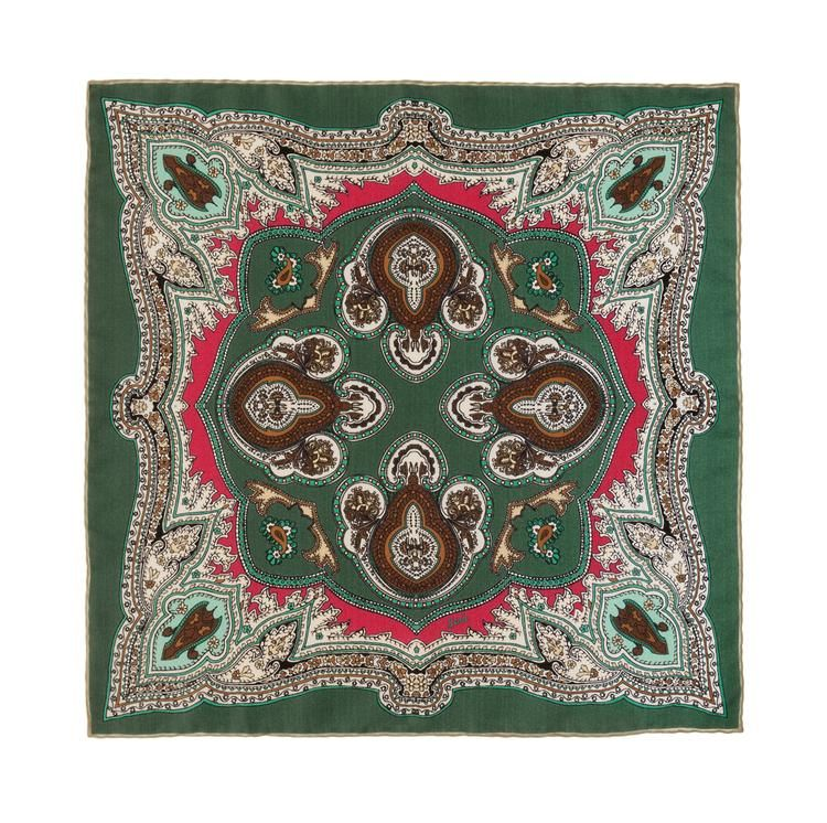 Lipari Silk Pocket Square