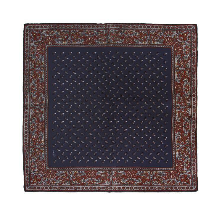 Elder Soave Silk Pocket Square
