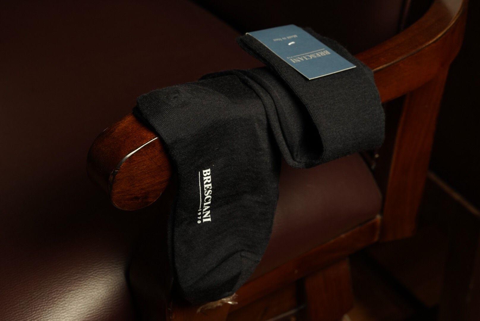 Bresciani Over Calf sock - Blu