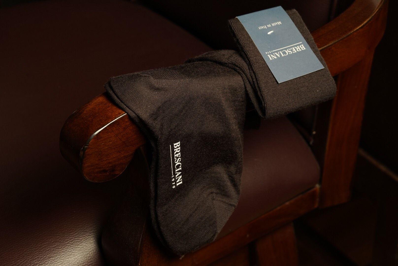 Bresciani Over Calf sock - Caffe II