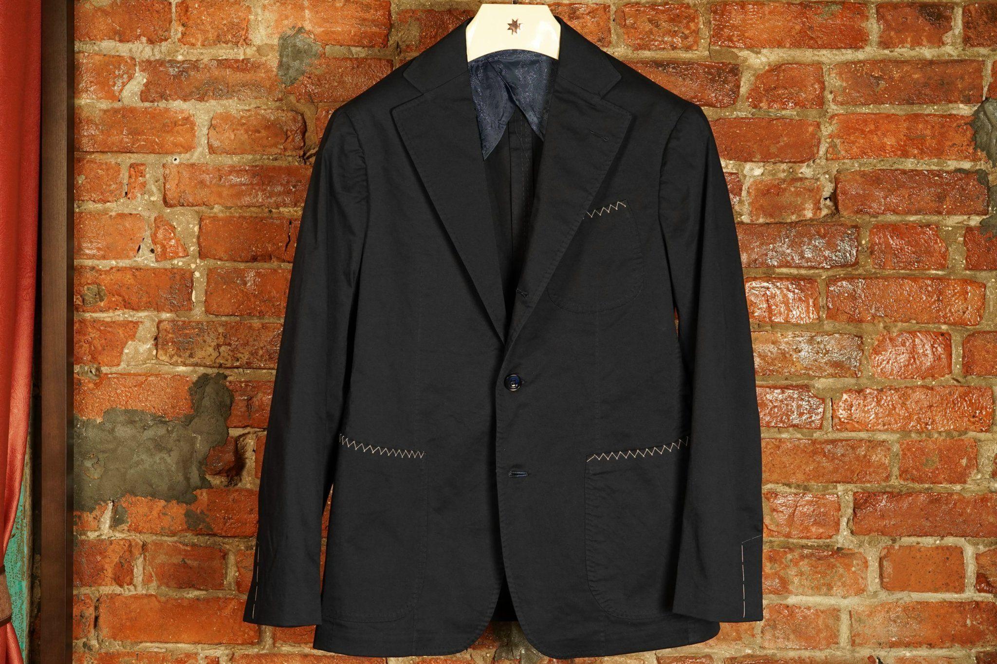 PS Cotton Jacket - Navy
