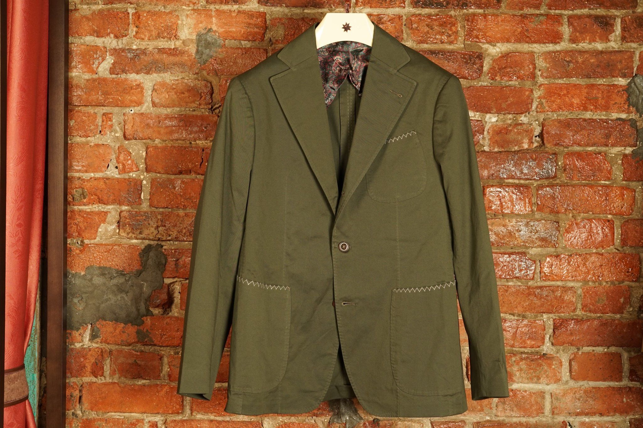 PS Cotton Jacket - Olive