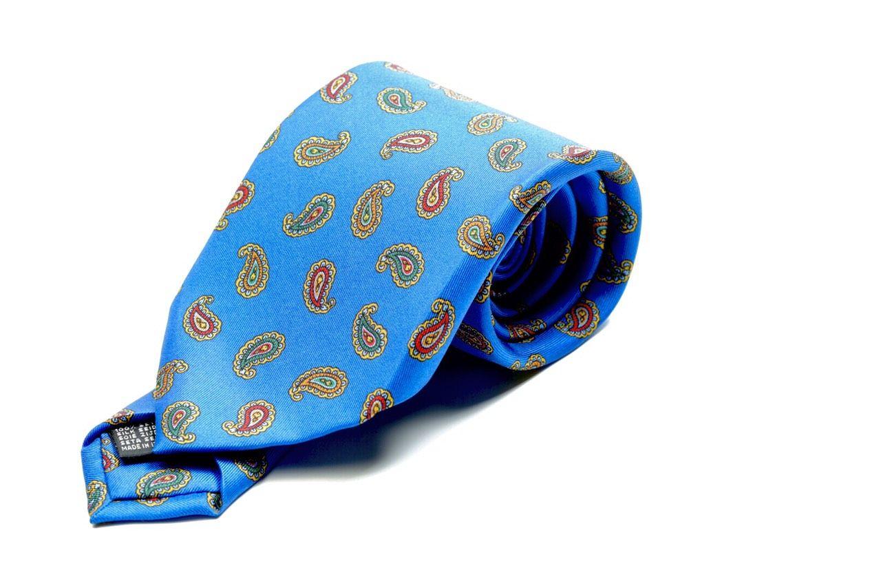 Silk Printed Tie col.1
