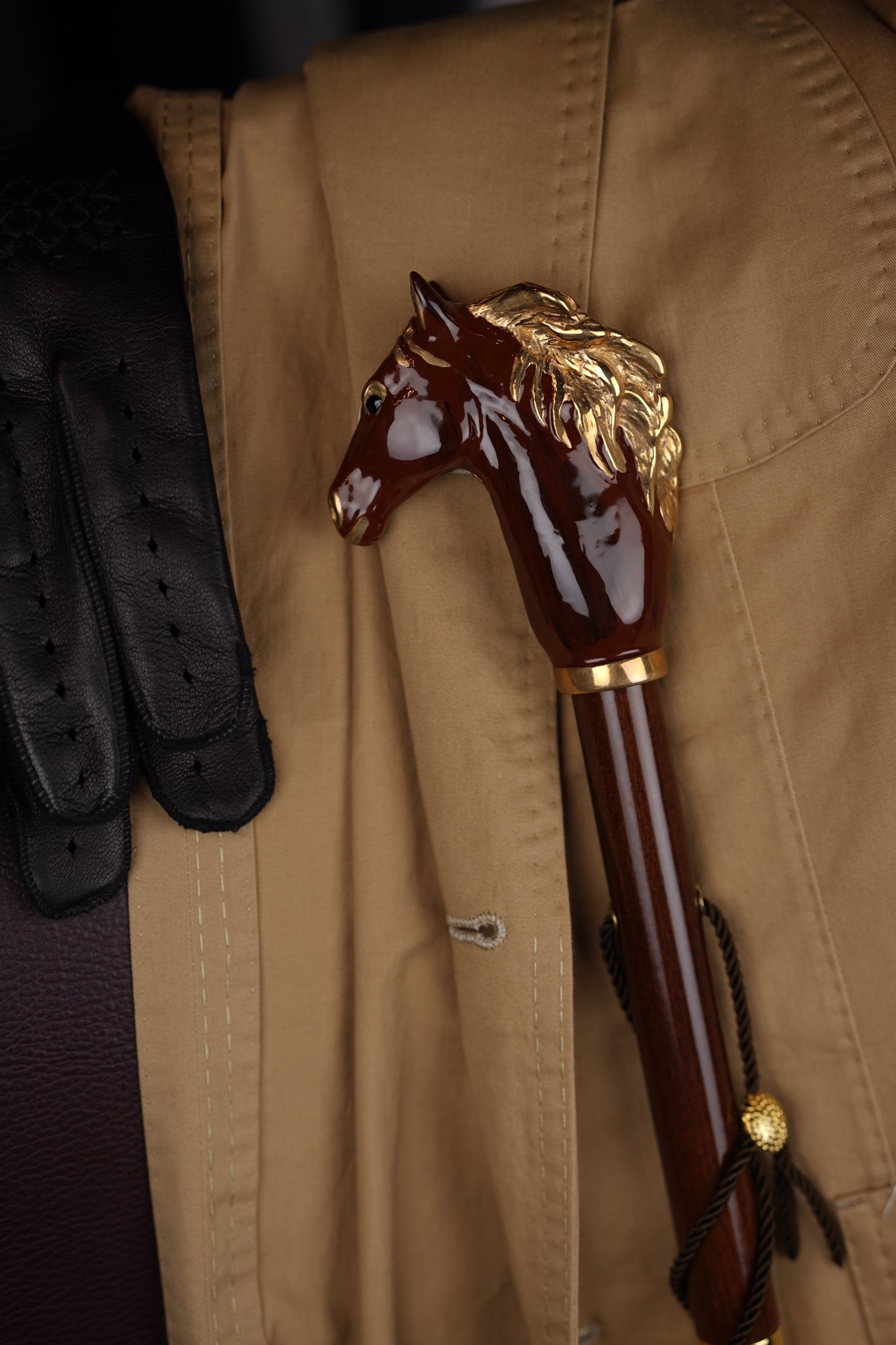 Pasotti - Brown Horse Shoehorn