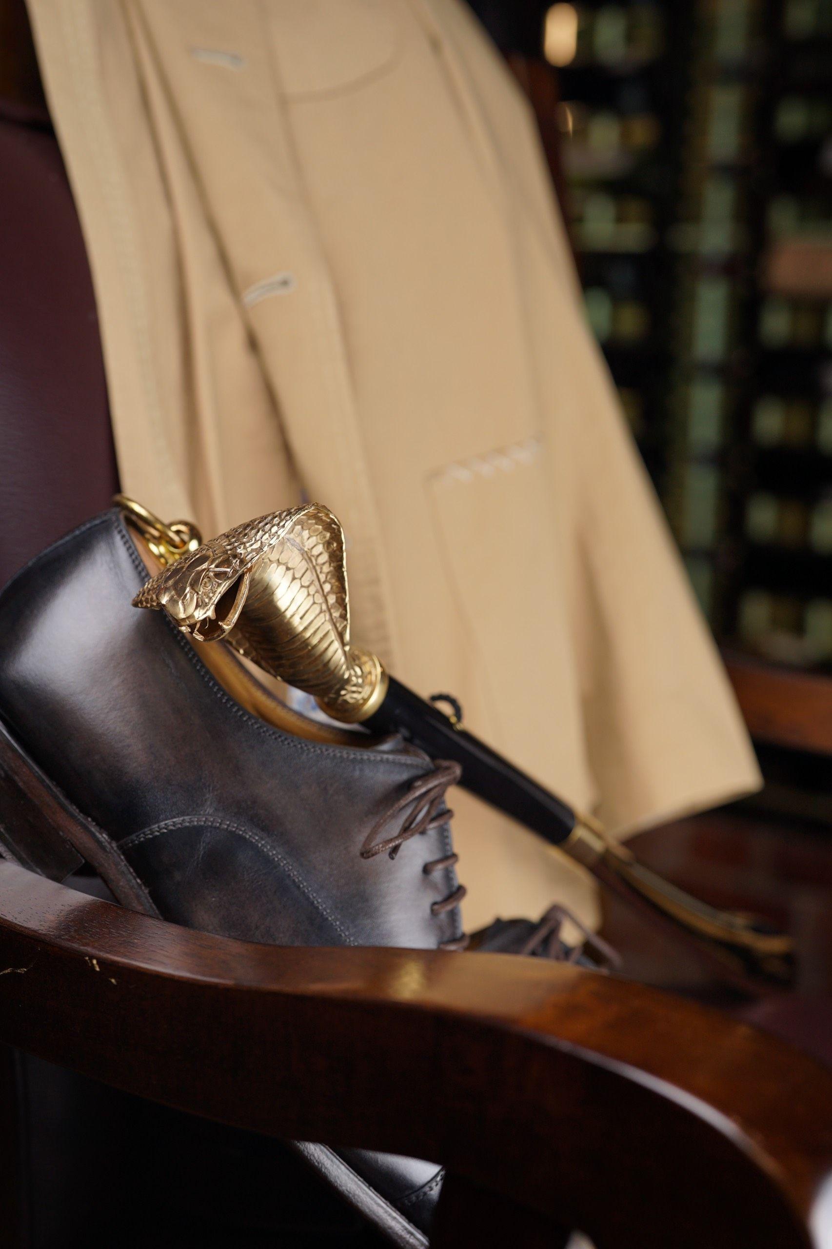 Pasotti - Gold Cobra Shoehorn