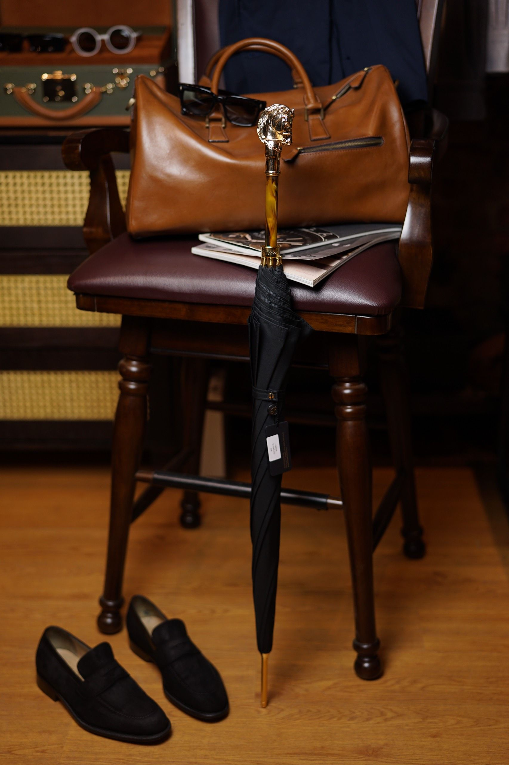 Pasotti - Golden Horse Umbrella