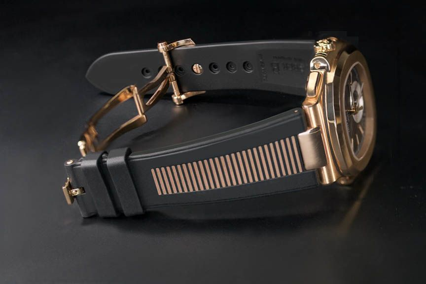 Patek Nautilus Rubber GoldMatic™ 18k Rose Gold PK77-BK/GMRG