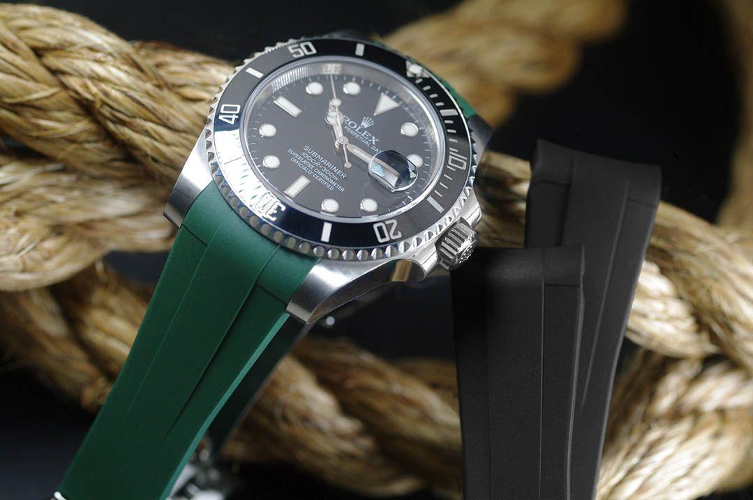 Rolex Submariner Ceramic 40mm - Glidelock Edition - M104 Pine Green