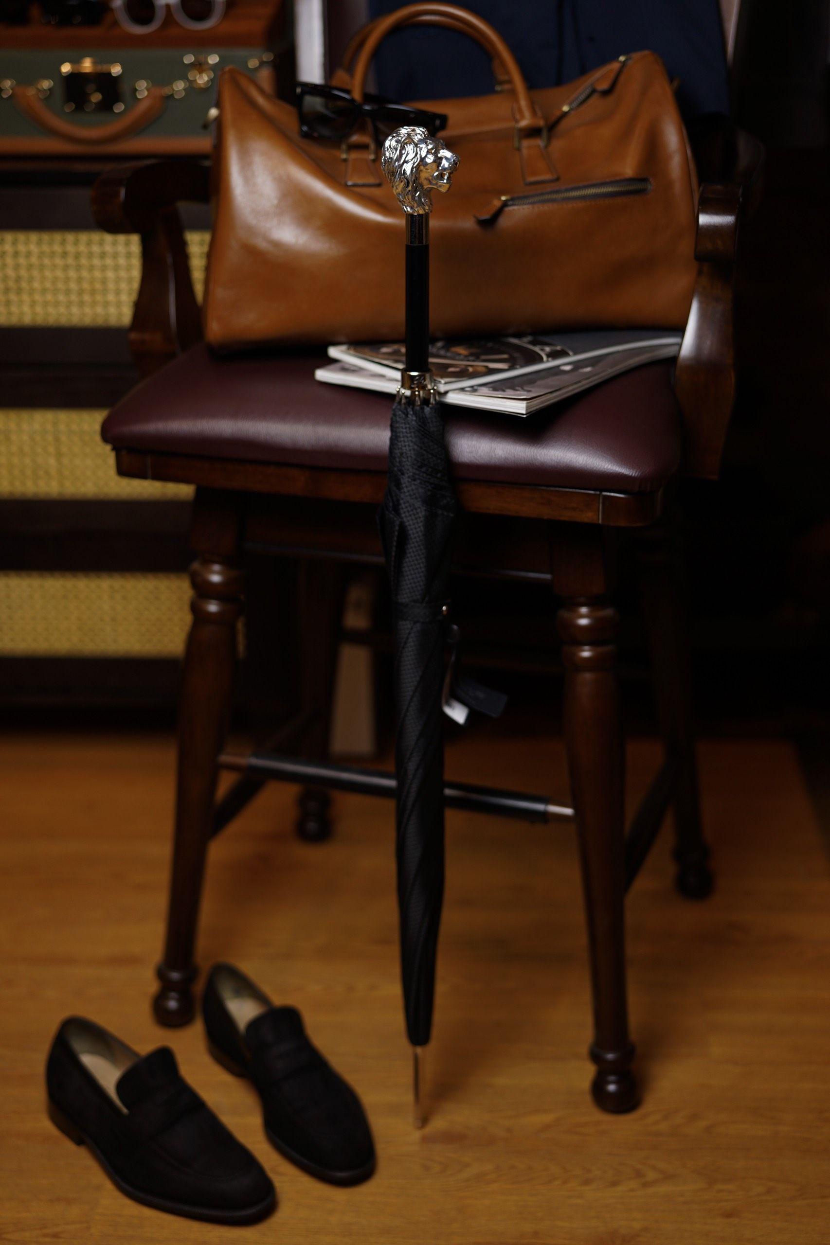 Pasotti -  Silver Lion Umbrella