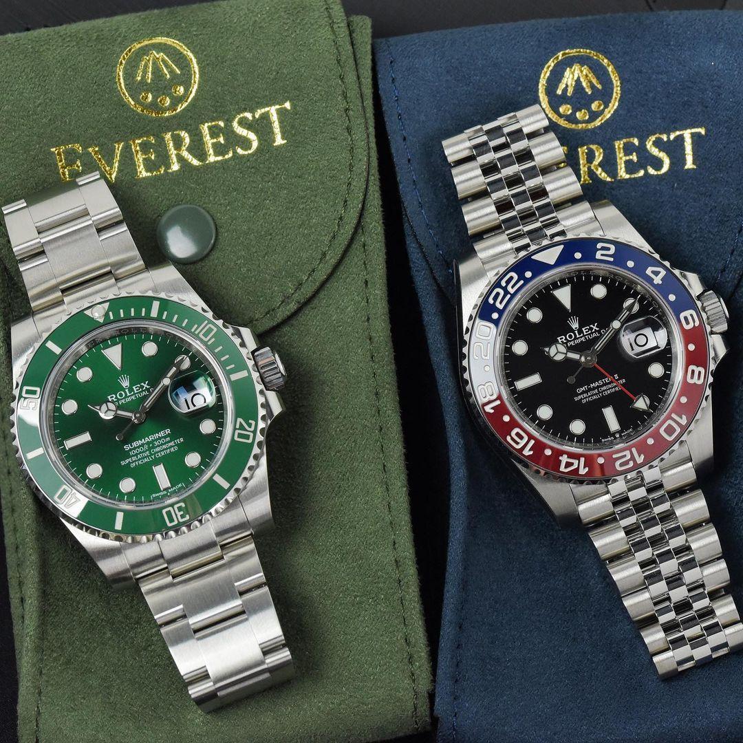 Everest Watch Pouch - HUNTER GREEN