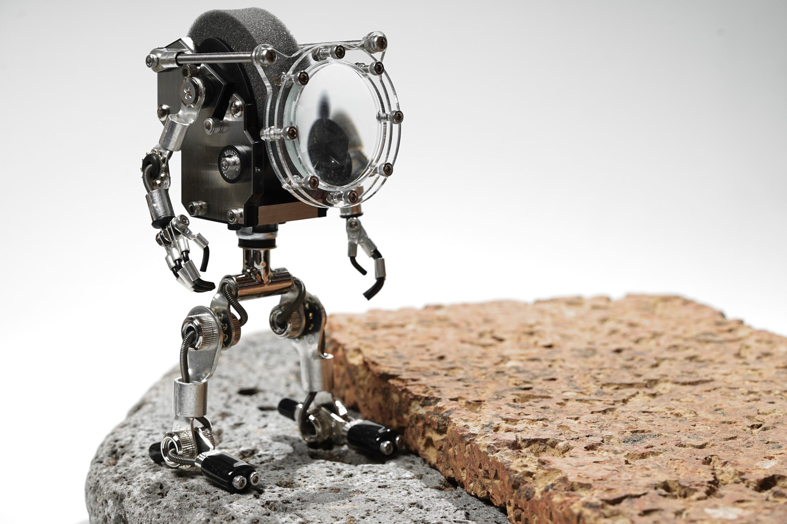 Robotoy with Loupe