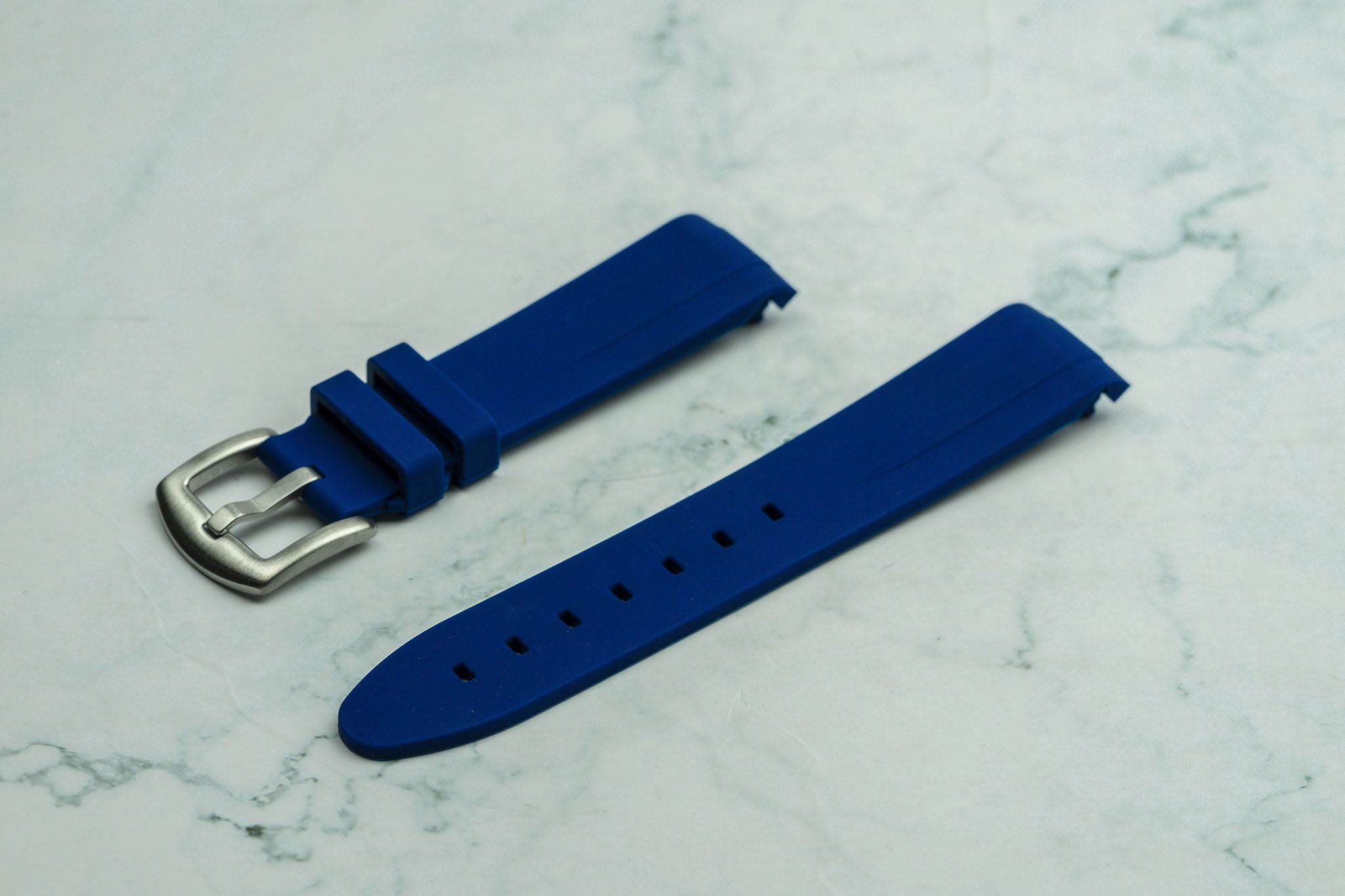 20mm Curved Ended - Navy
