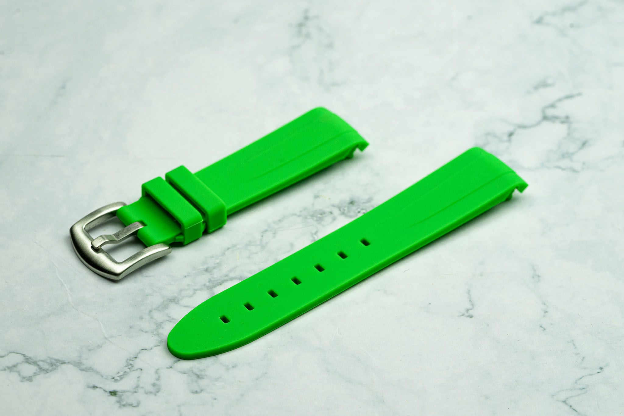 20mm Curved Ended - Lime