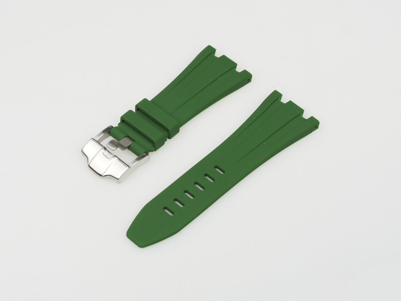 Green 42mm AP Rubber Strap