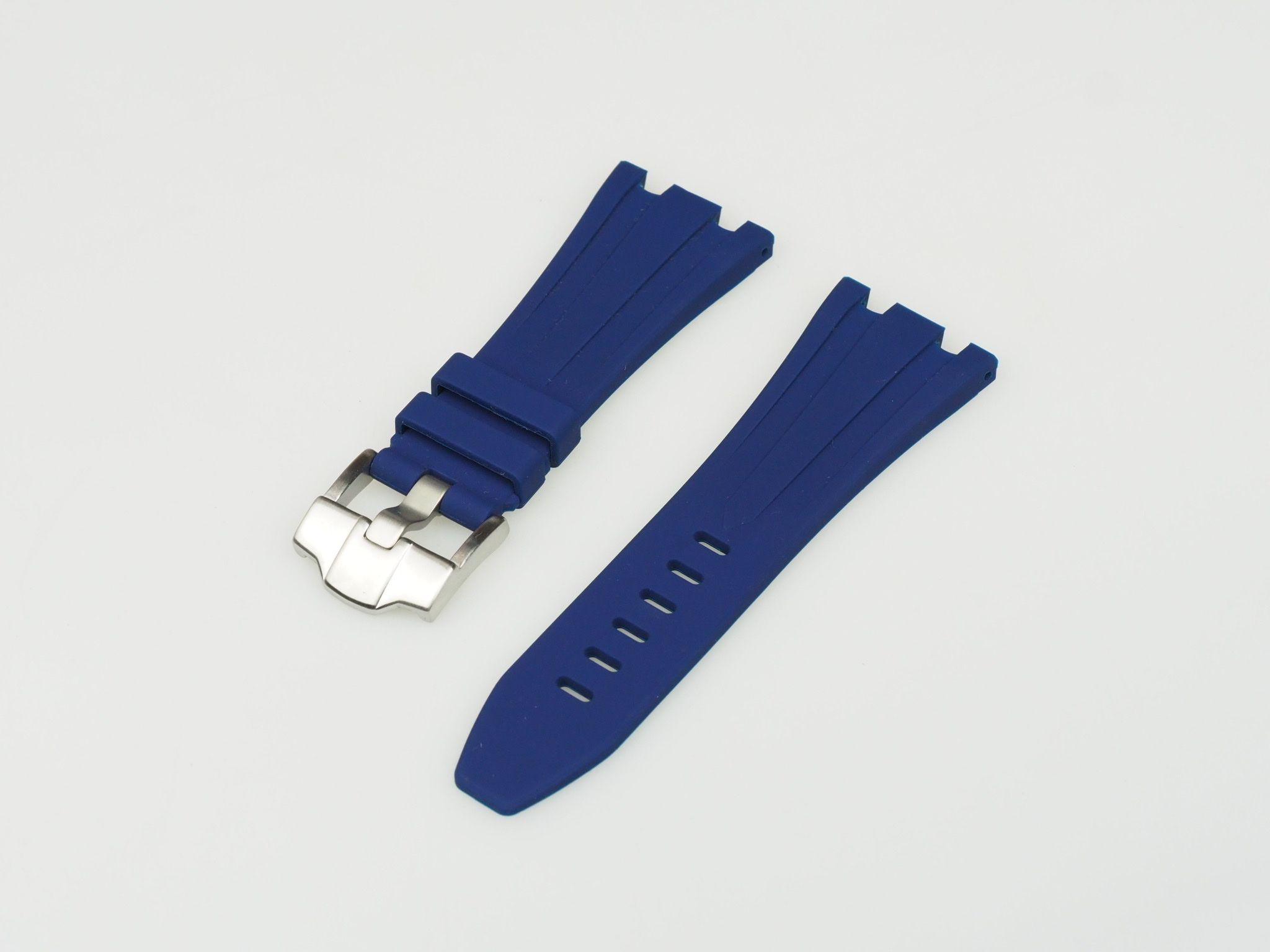 Navy Blue 42mm AP Rubber Strap