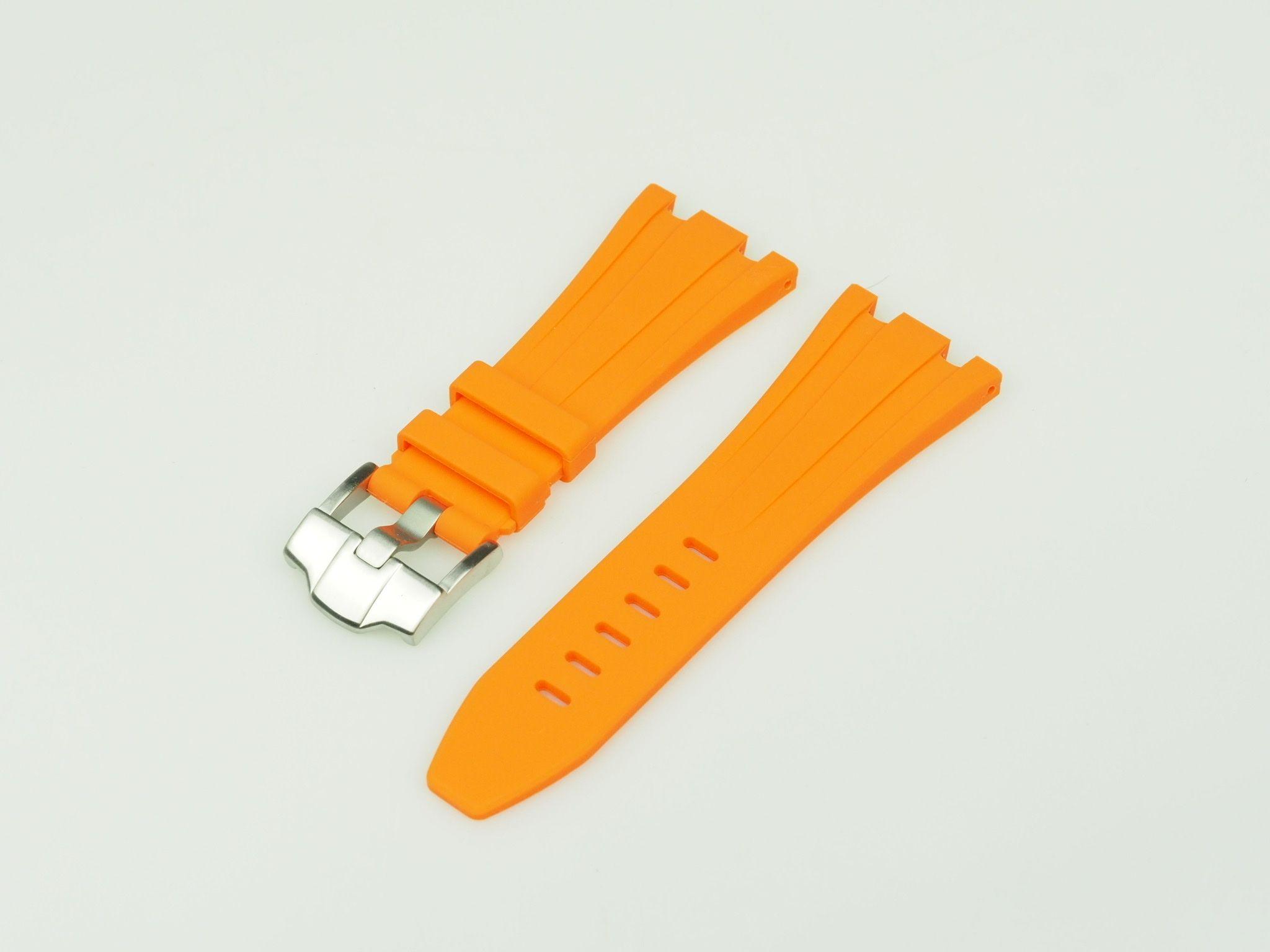Orange 42mm AP Rubber Strap